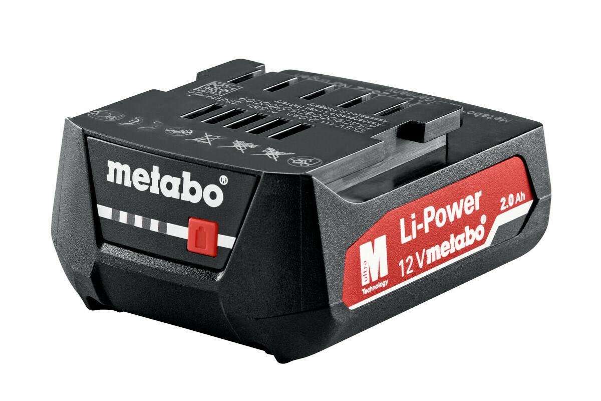 Аккум-р Metabo 12,В 2,0Ач  Li Power