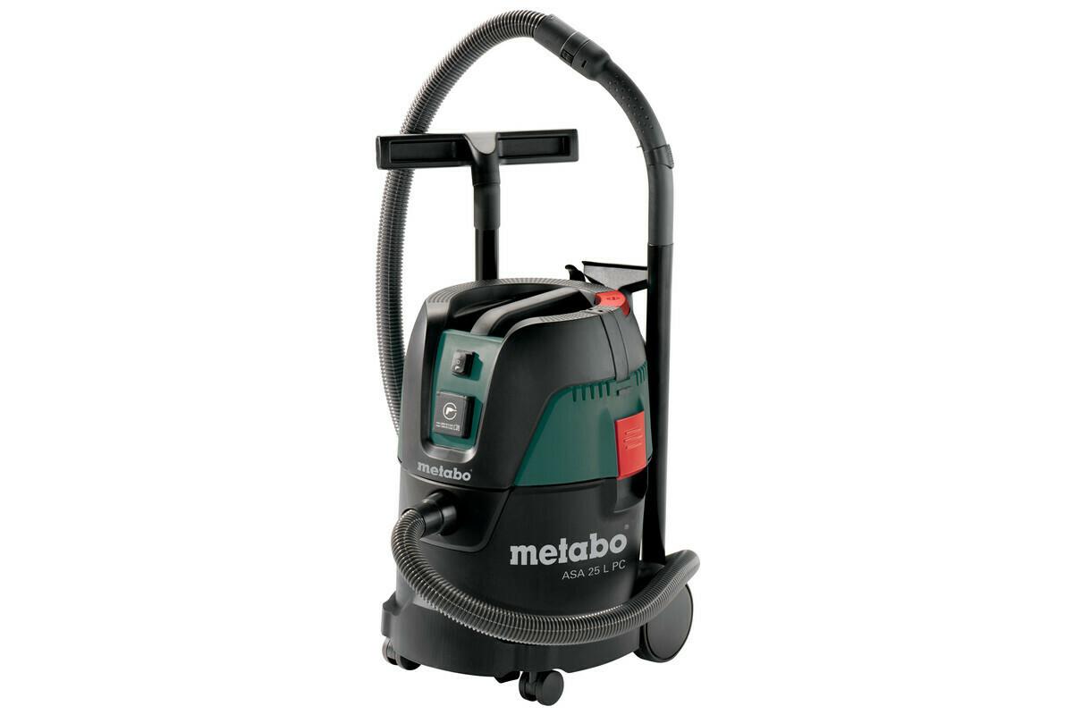 Пылесос Metabo ASА 25 L PC 1250 Вт, розетка, ручная очистка