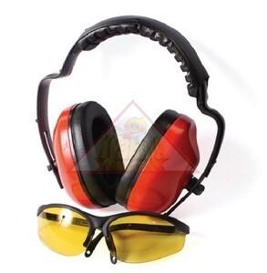 Наушники противошумные+очки Unisaw Professional Quality