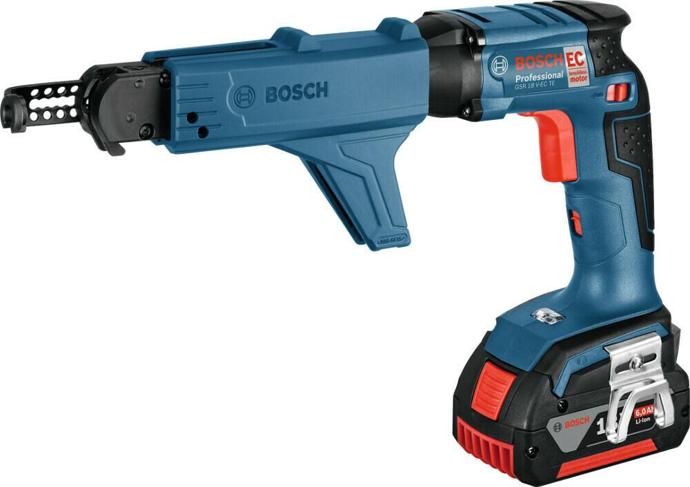 Ак. шуруп. BOSCH GSR 18V-EC TE 2x5,0AH L-Boxx+MA55UNI