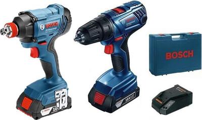 Набор Bosch GDX 180-Li+GSR 180-Li, 2акк, ЗУ