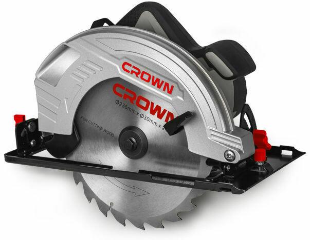 Эл. пила дисковая CROWN CT15210-235