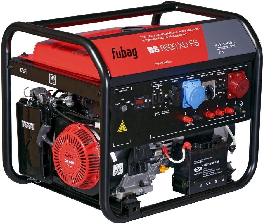 Электростанция бензиновая BS 8500 XD ES с электрос