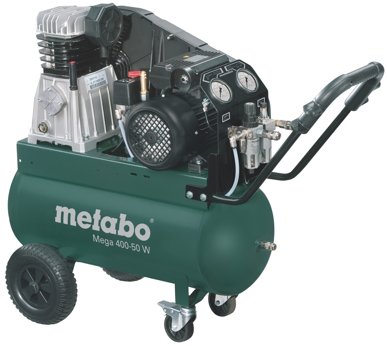 Компрессор Metabo MEGA 400-50W 2,2кВт, 400/м, 230В, 10б, 50л