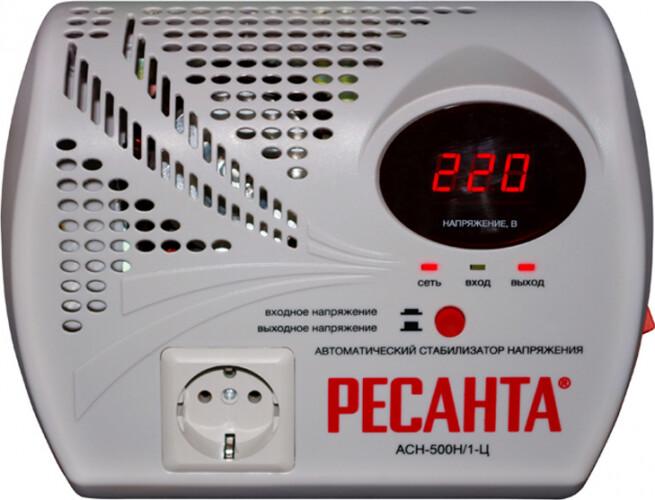 Стабилизатор АСН-500 Н/1-Ц Ресанта 63/6/9