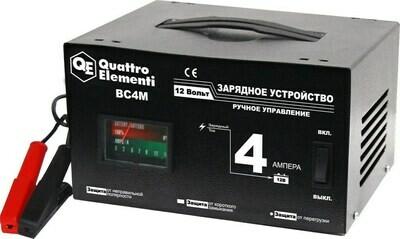 Зарядное устройство QUATTRO ELEMENTI BC 4M (12В,4А)
