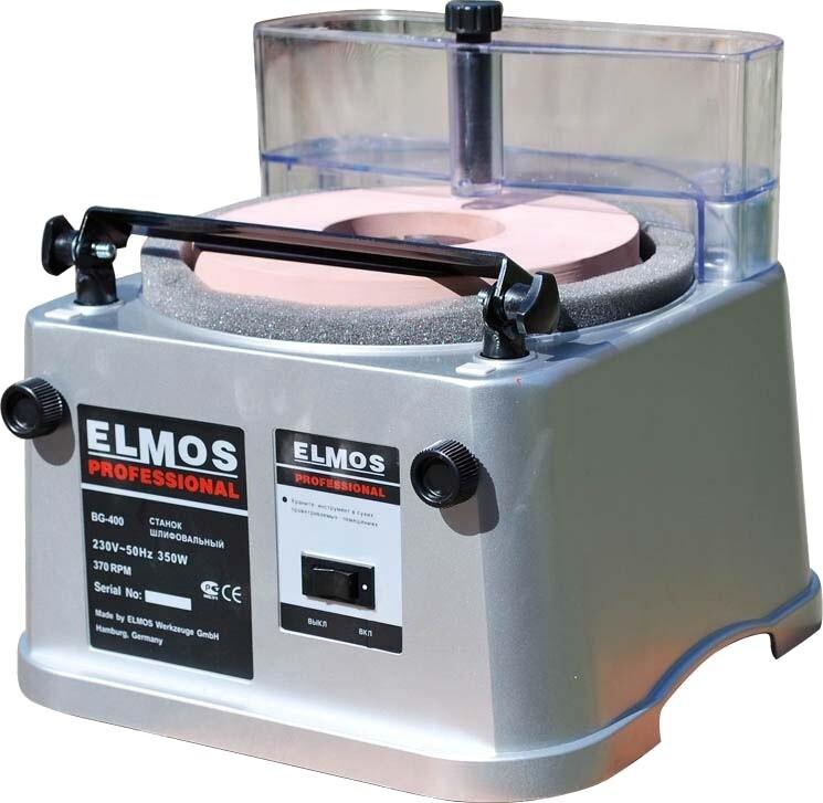 Эл. точило ELMOS BG 400 ( вертикальный)  350Вт