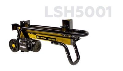 Дровокол Champion LSH 5001 (2,2 кВт, 5 тонн, 45,4 кг, + насадка для колки дров на 4  части)