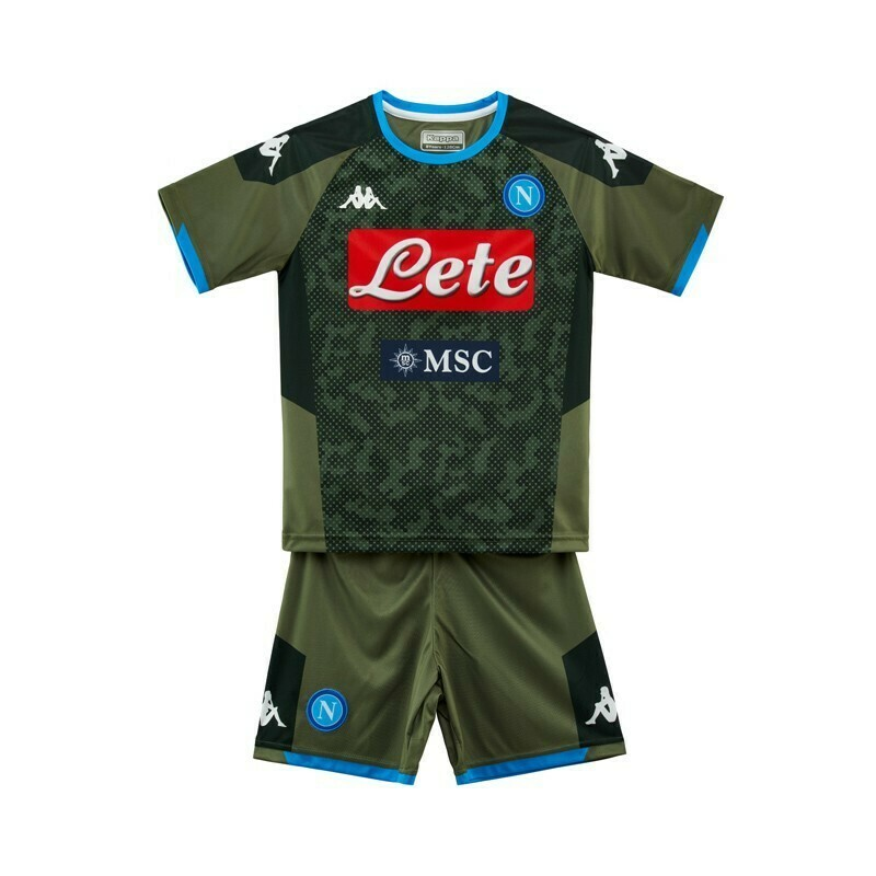 SET NAPOLI JUNIOR VERDE
