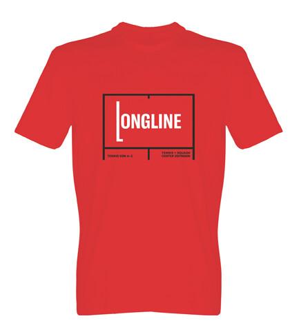 "Type Plays Tennis T-Shirt ""Longline"""