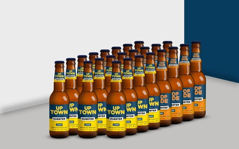 50/50 - UP TOWN & HOP SIDE - Carton x24
