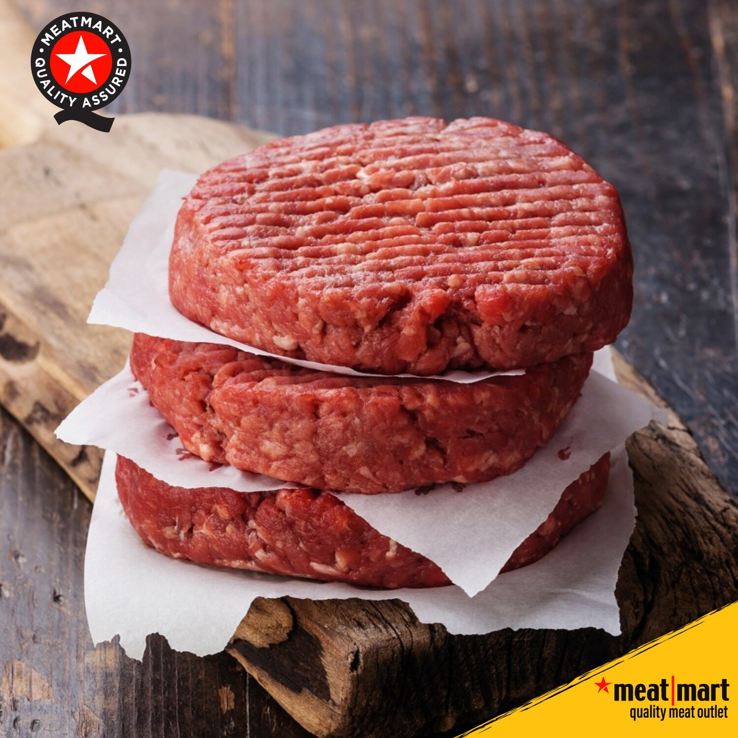 Traditional Butcher's Beef Burgers