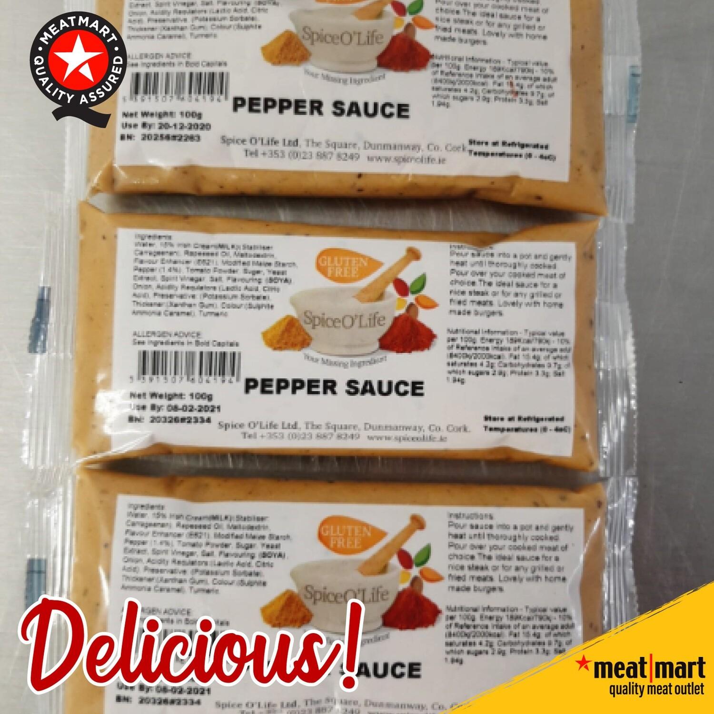 Creamy Pepper Sauce Sachets (100g)