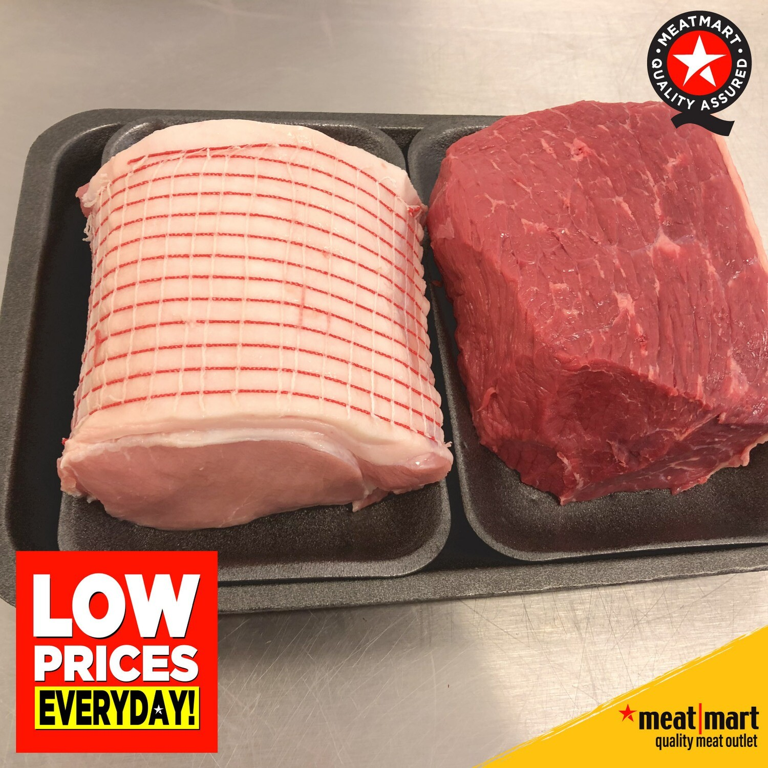Twin Pack - Beef Joint & Pork Joint