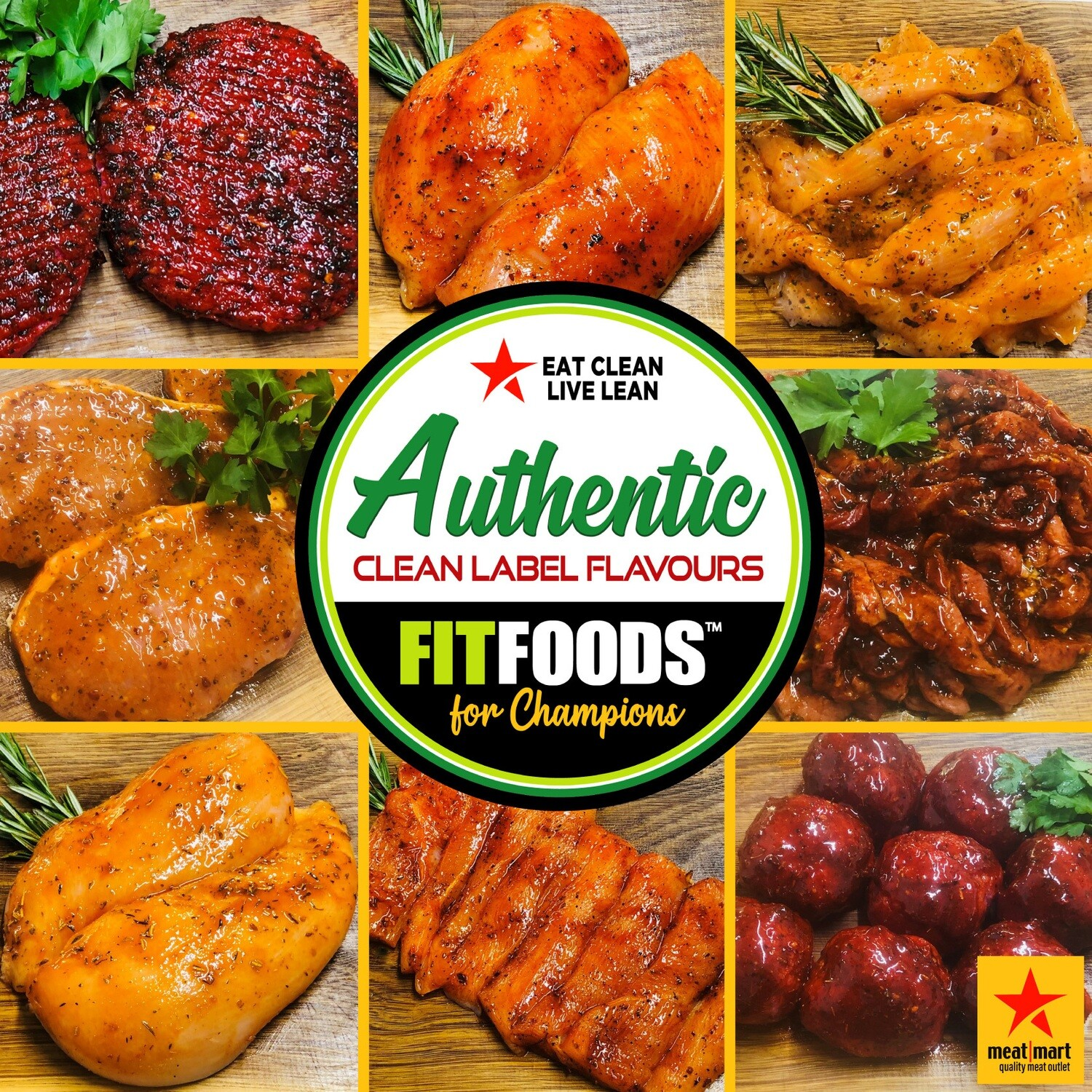 FIT FOODS TURKEY - ANY 2 PACKS FOR £5.00