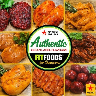 FIT FOODS STEAK BURGERS 'AUTHENTIC' - ANY 2 PACKS FOR £7.00