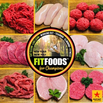 FIT FOODS 'EXTRALEAN' - ANY 2 PACKS FOR £7.00