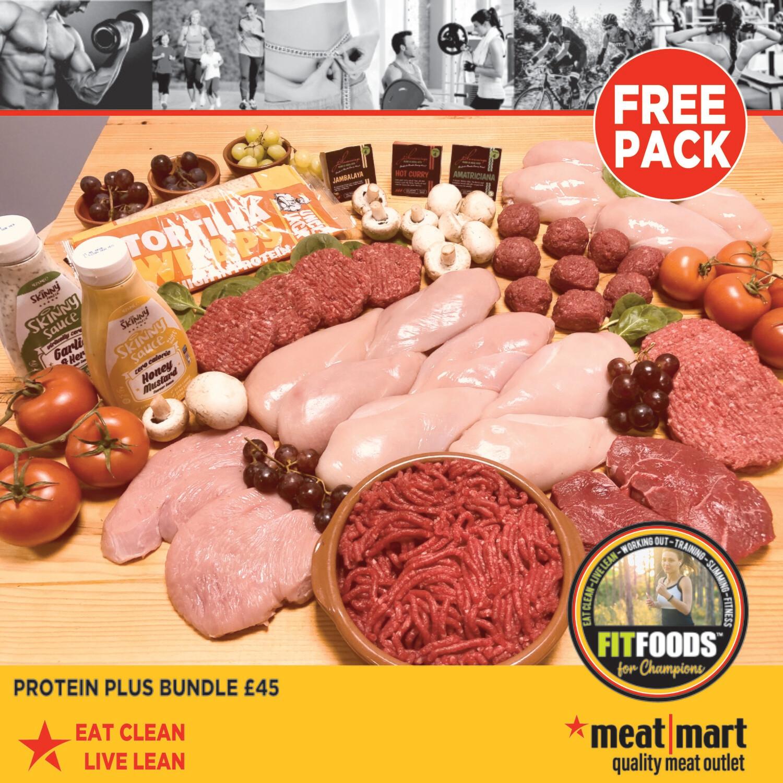 FIT FOODS - Protein Plus Bundle (+ FREE Pack)