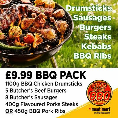 BBQ PACK £9.99