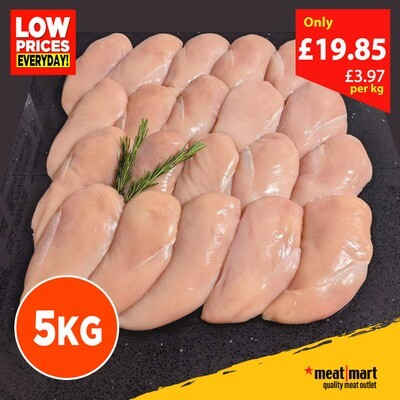 5KG Fresh Chicken Breast Fillets