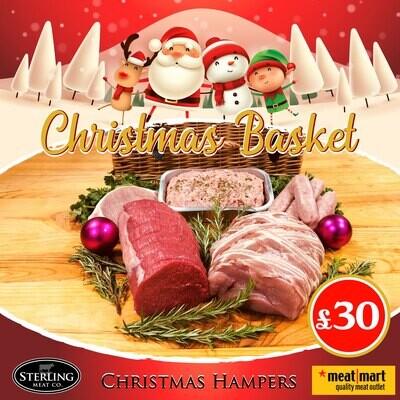 Christmas Basket Hamper £30 - PRE-ORDER