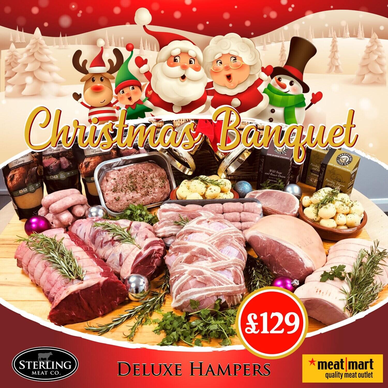 Christmas Banquet Deluxe Hamper £129 - PRE-ORDER