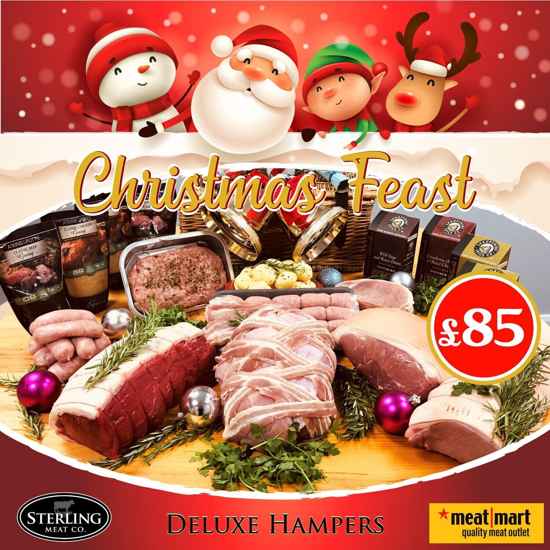 Christmas Feast Deluxe Hamper £85 - PRE-ORDER