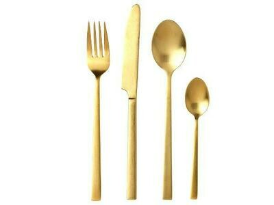 Cutlery sets (4 sets) Brass