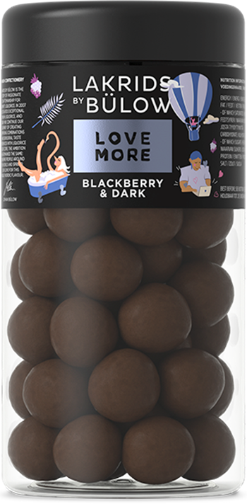 LAKRIDS Liquorice, LOVE BLACKBERRY & DARK, 295g