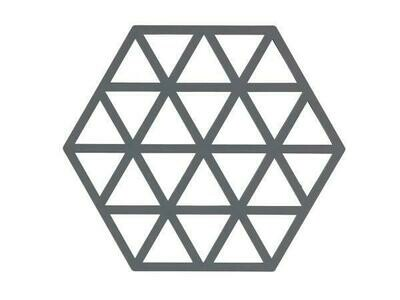 Triangles Trivet, Cool Grey