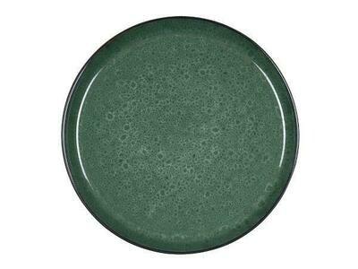 Gastro Plate, Stoneware, Black/ Green