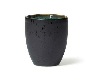 Mug, Stoneware, Black/ Green