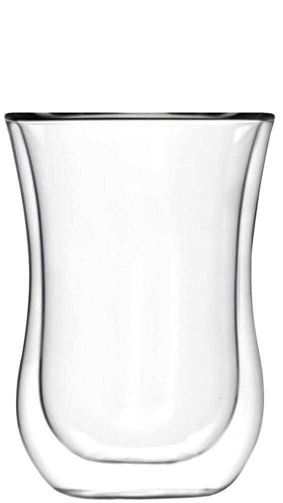 2x Coffee 'N More Glass, 230ml