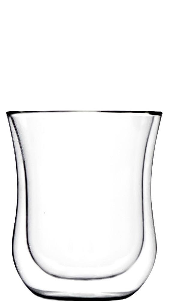 2x Coffee 'N More Glass, 180ml