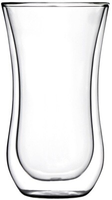 2 x Coffee 'N More Glass, 330ml