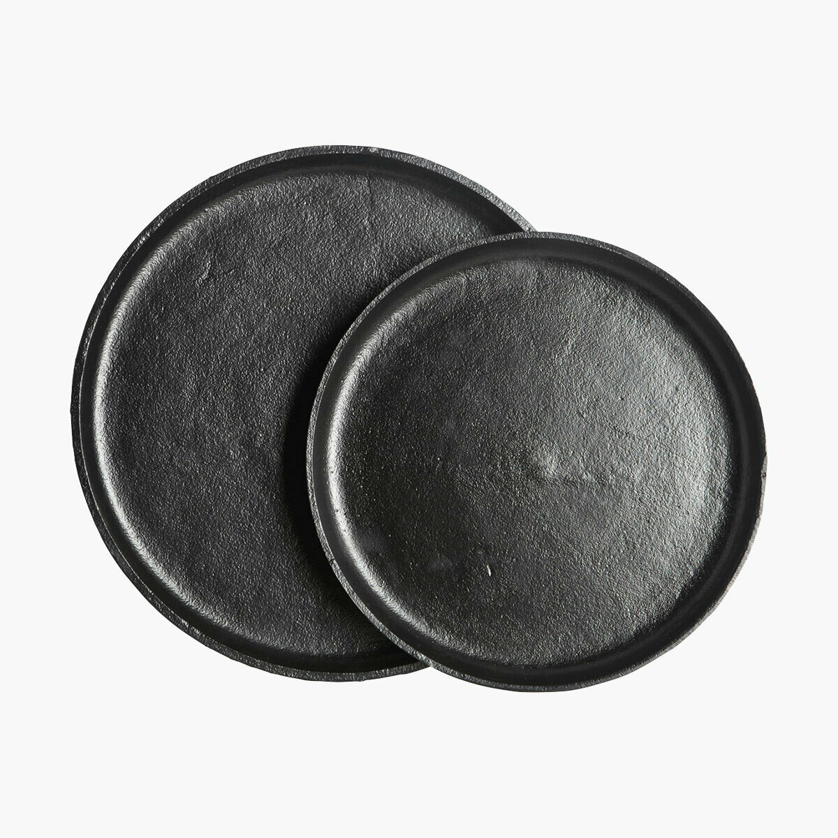 2pcs. Trays Ria, Aluminium, Black