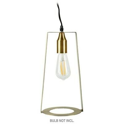Lamp, Iron, Brass