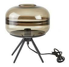 Table Lamp, Glass, Metal