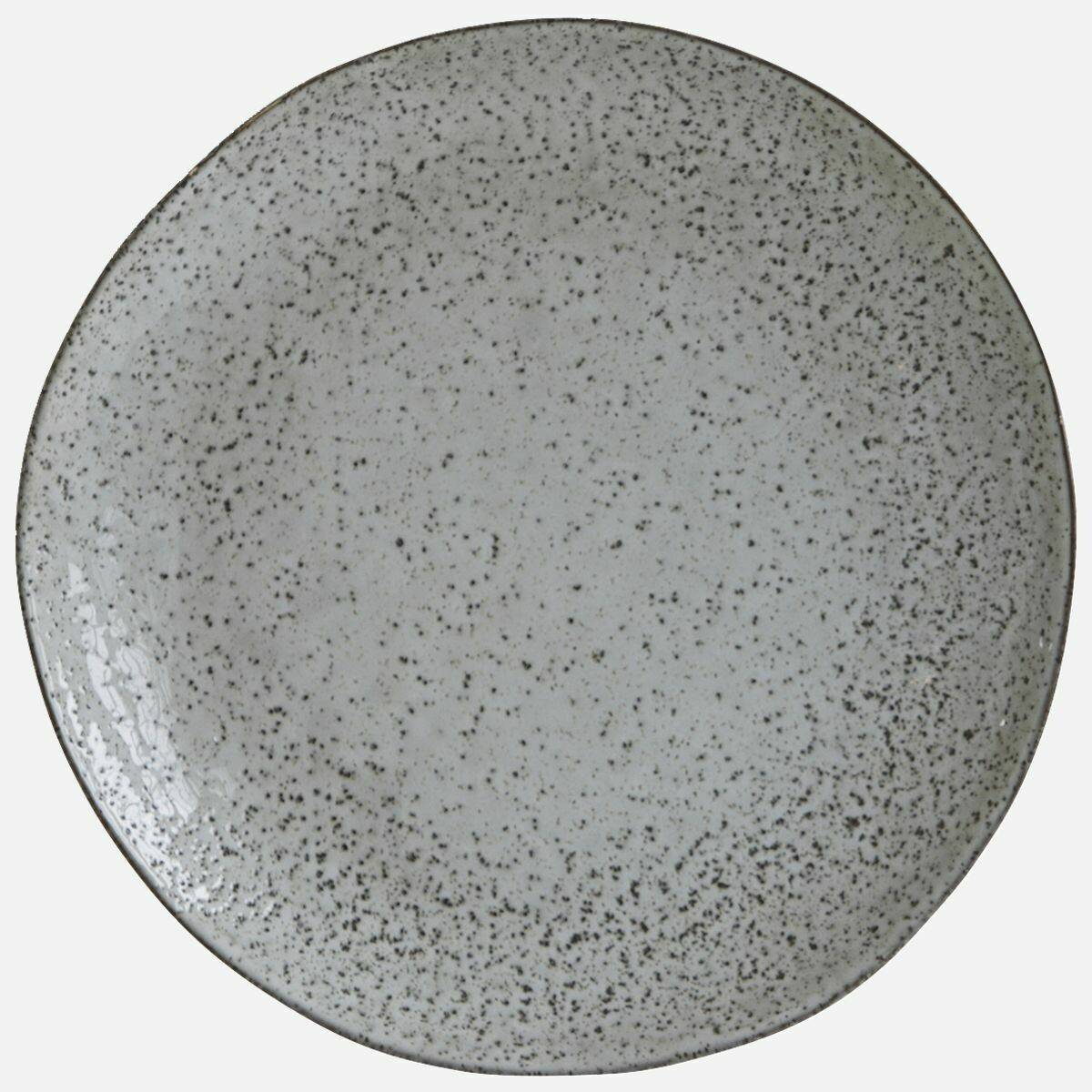 Dinner Plate, Rustic, Grey/Blue