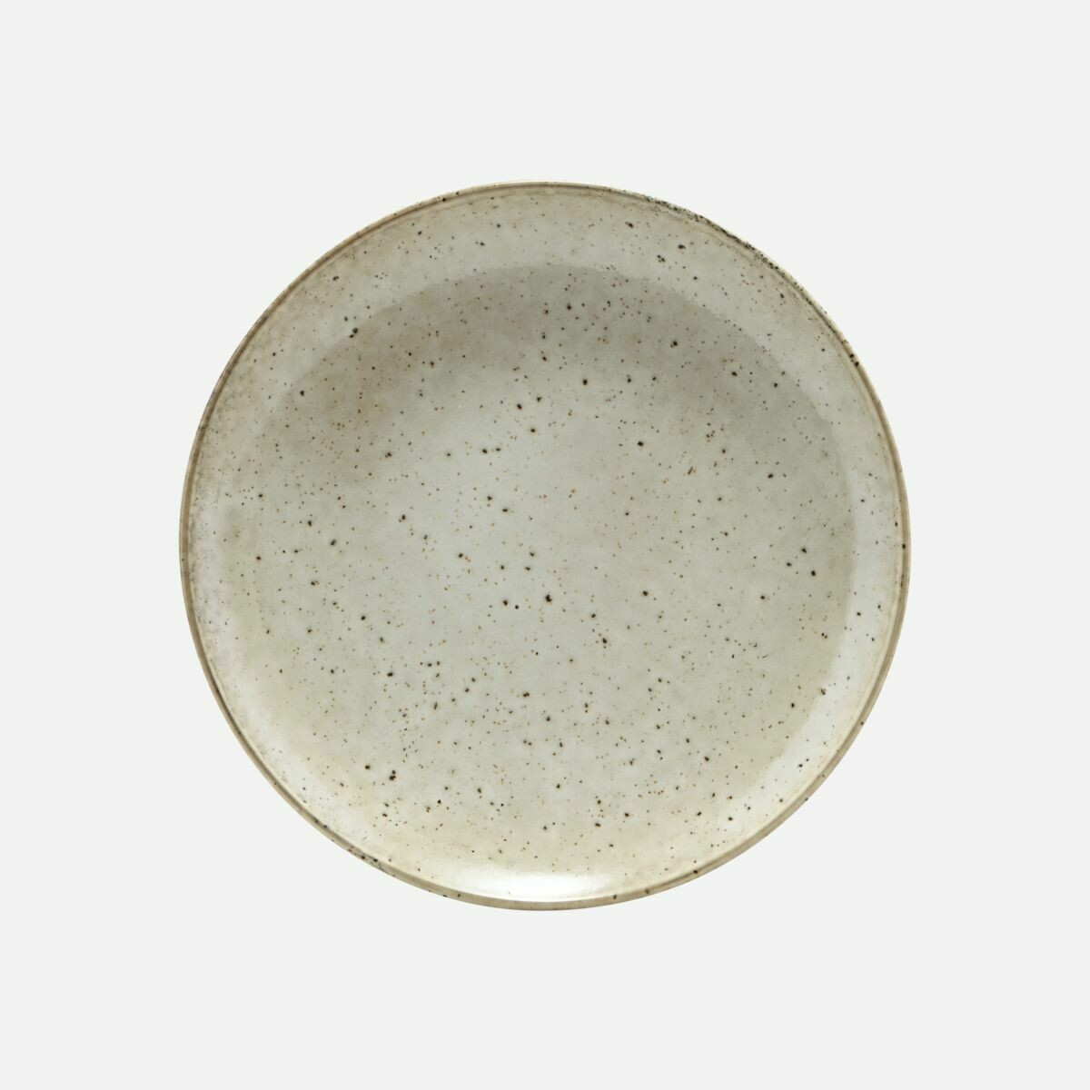 Stoneware Lunch Plate Lake, Light Grey