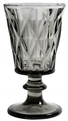 Diamond Redwine Glass