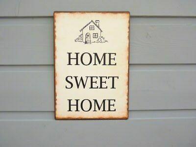 Metal Sign 'Home Sweet Home'