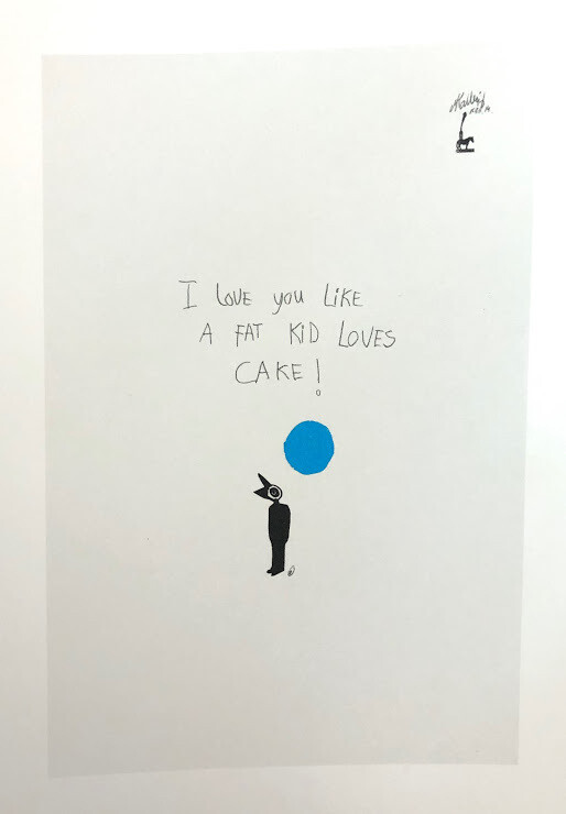 Martin Kalhøj Art Post Card - I love You like...