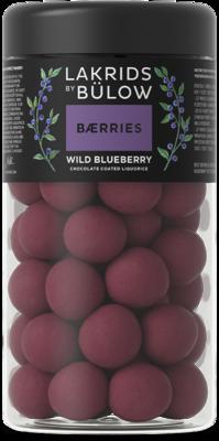 WILD BLUEBERRY - CHOCOLATE COATED LIQUORICE, 295gr