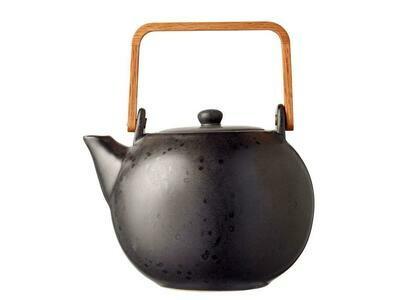 Teapot 1,2 liter Black