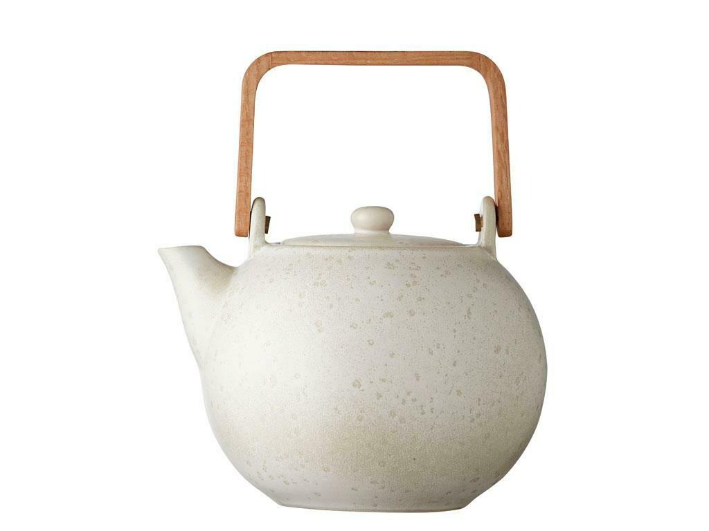 Teapot 1,2 liter Matte Cream