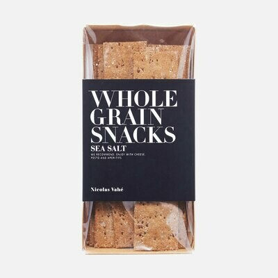 Wholegrain Crackers - Sea Salt