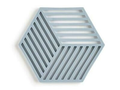 Silicone Hexagon Trivet, Sky