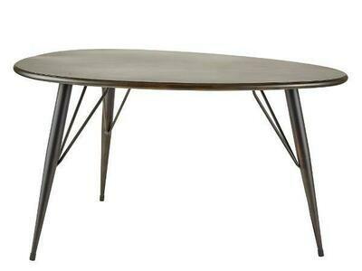 Table 70 x 50 x 40 cm Black