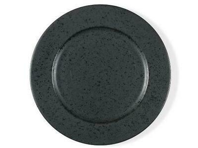 BITZ Dinner plate Dia. 27 cm Black